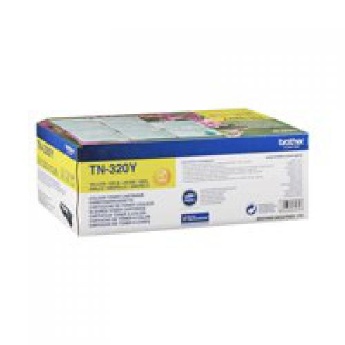 OEM Brother TN-320Y Yellow 1500 Pages Original Toner