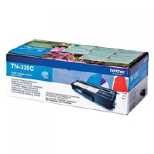 OEM Brother TN-320C Cyan 1500 Pages Original Toner