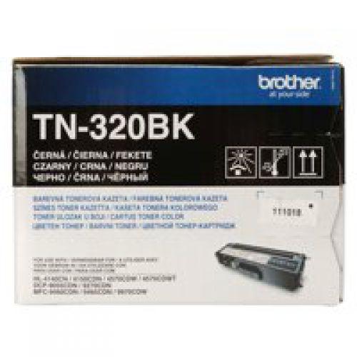 OEM Brother TN-320BK Black 2500 Pages Original Toner