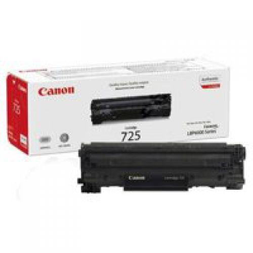 Canon 3484B002 725 Black Toner 1.6K