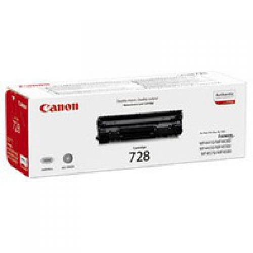 OEM Canon 3500B002 728 Black 2100 Pages Original Toner