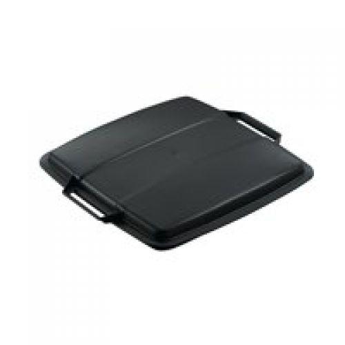 Durable Durabin 90L Black Lid 1800475221