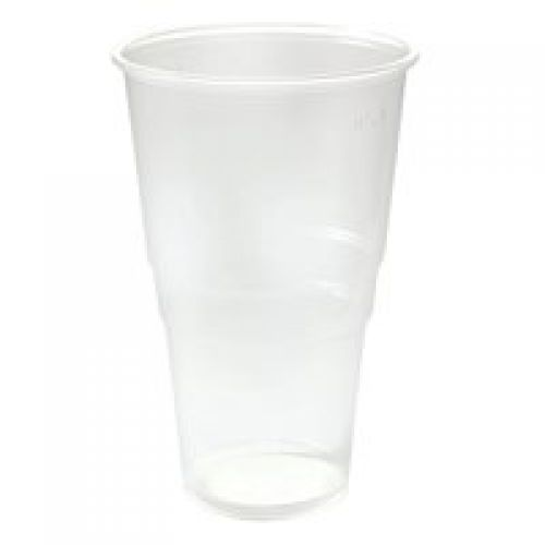 ValueX Flexiglass 1 Pint Clear Plastic Glass (Pack 50)