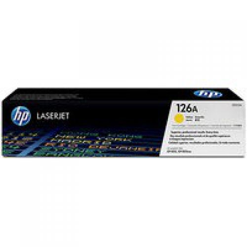 OEM HP CE312A Yellow 1200 Pages Original Toner