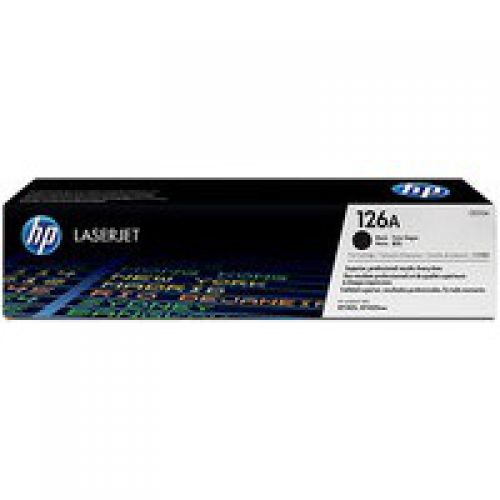 OEM HP CE310A Black 1200 Pages Original Toner