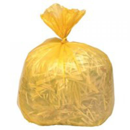 Coloured Refuse Sack CHSA 10KG 100 litres Yellow CS001 [Pack 200]