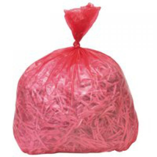Coloured Refuse Sack CHSA 10KG 100 litres Red CS003 [Pack 200]