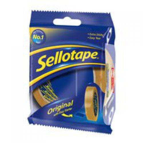 Sellotape Golden Tape 24mmx66m (Pack 12)