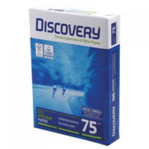 Discovery Paper FSC A4 75gsm 500 Sheets BX 5 Reams