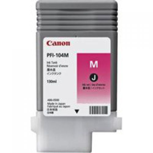 Canon 3631B001 PFI104 Magenta Ink 130ml