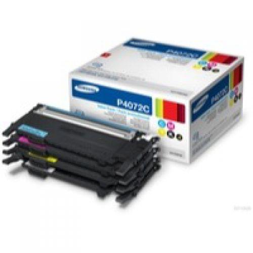 Samsung CLT P4072C Black and Colour Toner 1.5K 3x 1K Multi