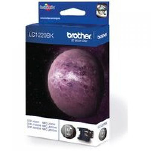 Brother LC1220BK Black Ink 8ml