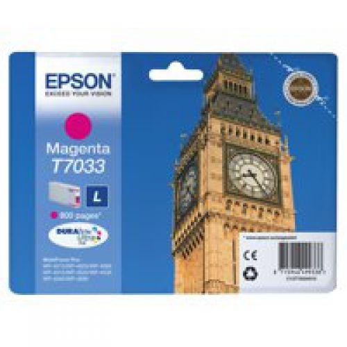 Epson C13T70334010 T7033 Magenta Ink 10ml