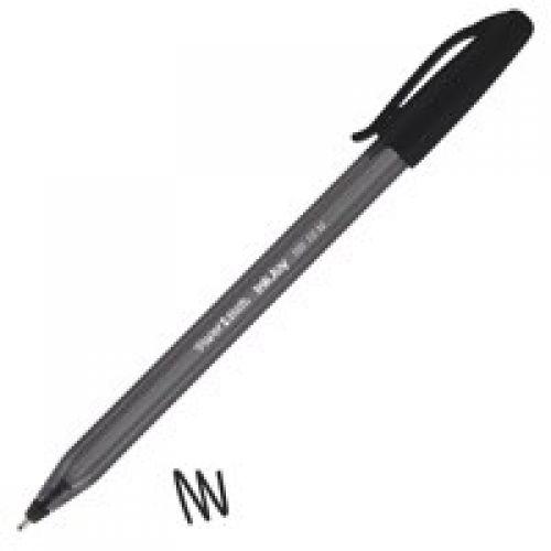 Paper Mate InkJoy 100 Ballpoint Pen 1.0mm Tip 0.7mm Line Black (Pack 50)