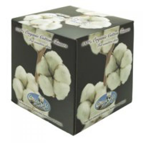 Cottonsoft Facial Tissue Cube 3 Ply White 56 Sheet