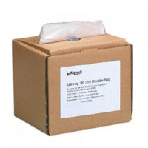 Safewrap 100 Litre Shredder Bag 425x820x990mm Box 50