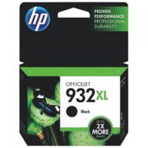 HP 932XL Black High Yield Ink Cartridge 23ml for HP OfficeJet 6100/6600/6700/7110/7510/7612 - CN053AE