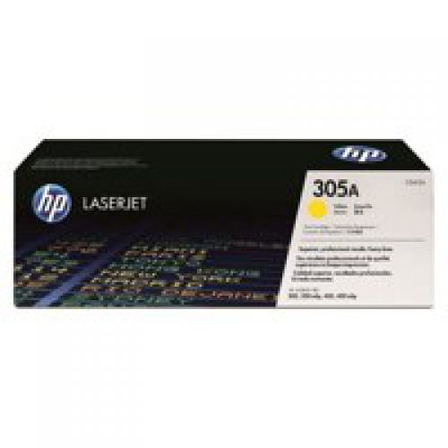 OEM HP CE412A Yellow 2600 Pages Original Toner