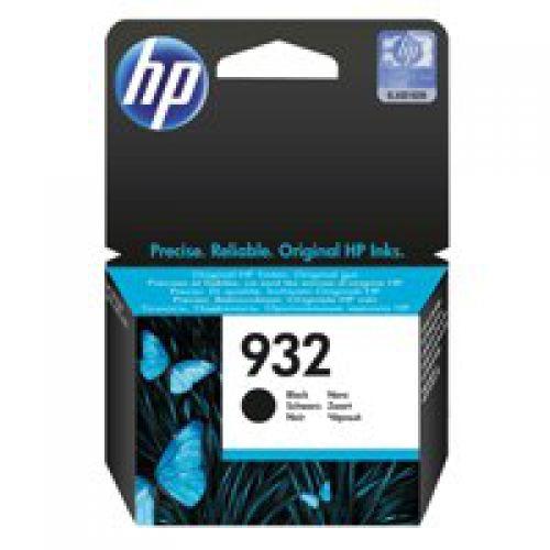 HP 932 Black Standard Capacity Ink Cartridge 9ml for HP OfficeJet 6100/6600/6700/7110/7510/7612 - CN057AE