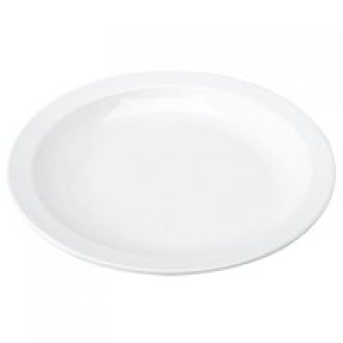 ValueX Wide Rimmed Plate 25cm (Pack 6)