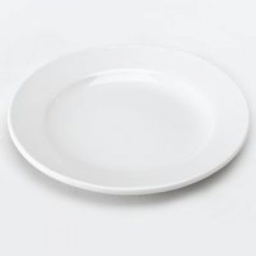 Value Wide Rimmed Plate 17cm (Pack 6)