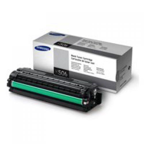 Samsung CLTK506S Black Toner Cartridge 2K pages - SU180A