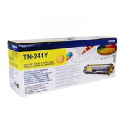 Brother TN241Y Yellow Toner 1.4K