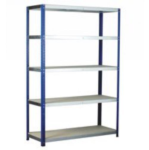 Eco-Rax H1800xW900xD450mm c/w 5 Chipboard Shelves