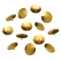 ValueX Drawing Pins Brassed 9.5mm (Pack 100)
