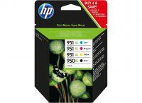 HP C2P43AE 950XL 951XL Ink Multipack 53ml and 3x 17ml