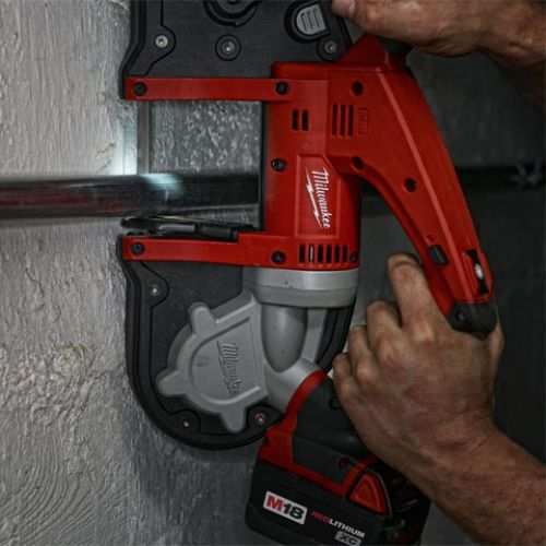 MILWAUKEE ELECTRIC TOOLS M18 Cordless Band Saws,(2) Batteries; Charger; Case