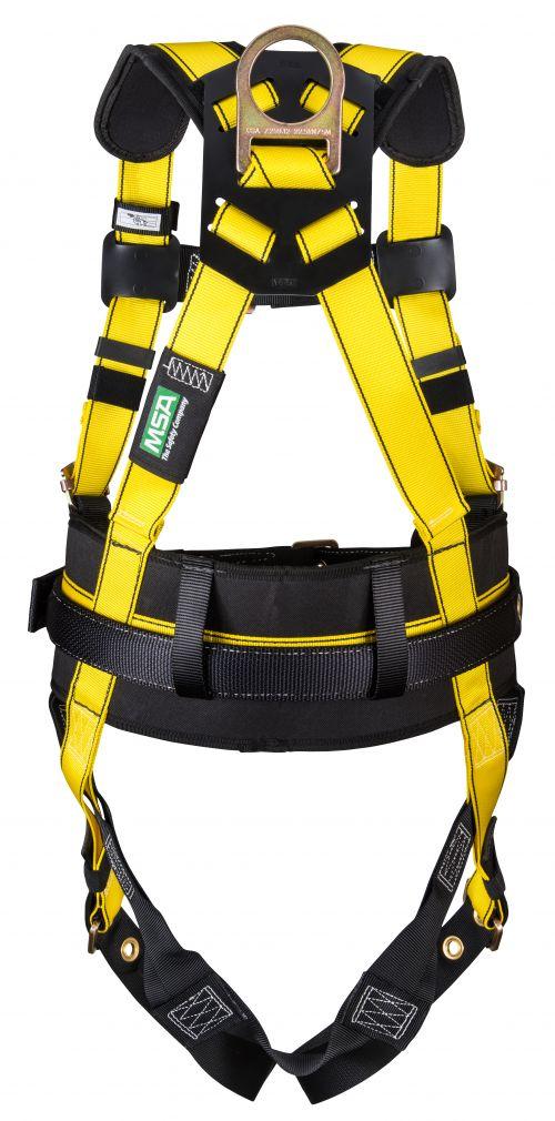 Workman Construction Harnesses, D-Ring Back; D-Ring Hips, Standard