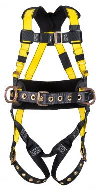 Workman Harnesses, D-Ring Back, Qwik-Fit Chest Strap & Leg Buckles, X-Small