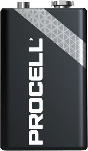 Duracell Procell Alkaline Battery 9V MN1604/EN22/522/4022/6AM6/6LR61 [Pack 10]