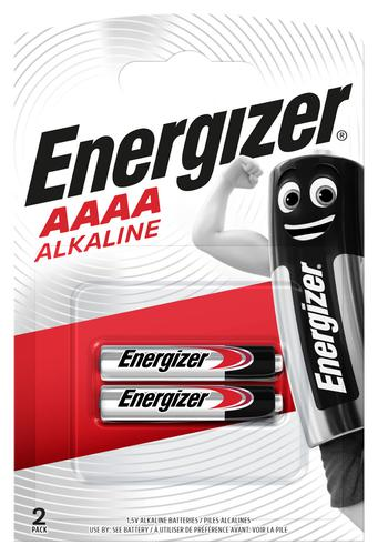 Energizer Max Alkaline Battery 1.5V AAAA [Pack 2]
