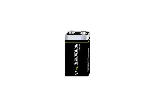 Vipro Professional Alkaline Battery 9V 6LR61 [Box 10]