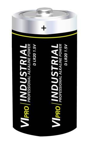 Vipro Professional Alkaline Battery 1.5V D LR20 [Box 10]