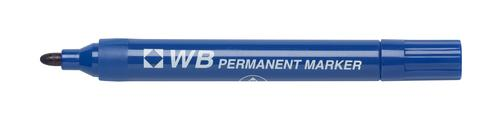 Contract Permanent Marker Bullet Tip Blue 860003 [Box 10]