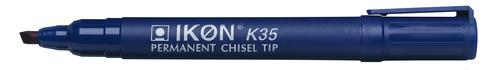 Langstane Ikon K35 Perm Chisel Mkr Blue - SINGLE