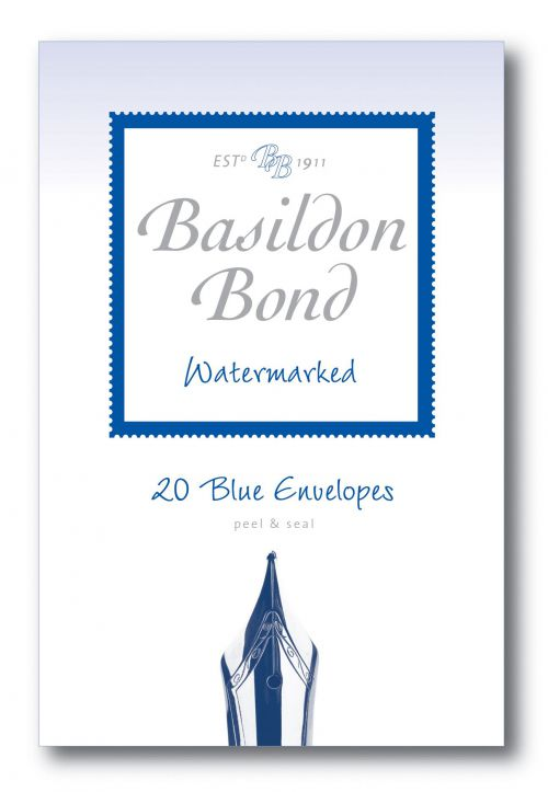 Basildon Bond Blue Envelope 95 x 143mm (Pack of 200) 100080064