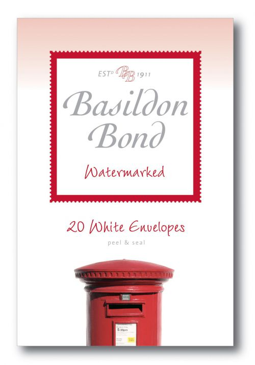 Basildon Bond White Envelope 95 X 143mm (Pack of 20) 100080067
