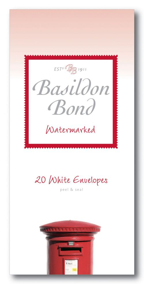 Basildon Bond White Envelope 89 x 187mm (Pack of 200) 100080068