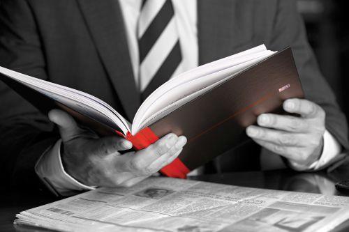 Black n Red A5 Casebound Hardback Single Cash Book (Pack of 5) 100080414 Accounts Books JDB66853
