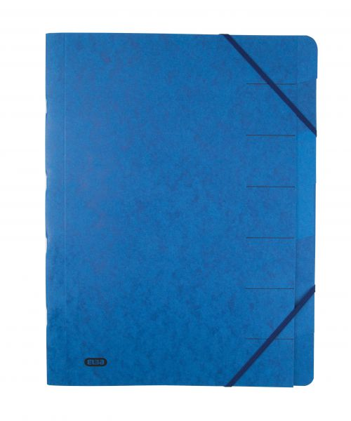 Elba Strongline 7-Part File A4 Blue (Pack of 5) 100090169