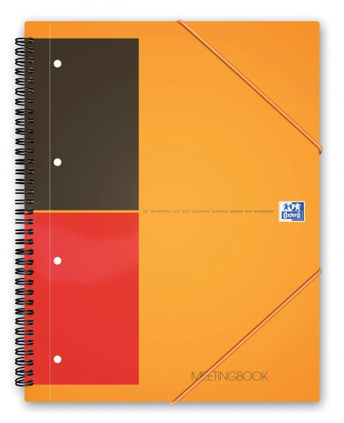 Oxford International A4 Plus Wirebound Polypropylene Meeting Book 100104296