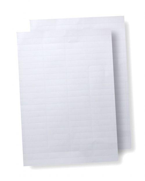Elba Verticflex Card Inserts for Suspension File Tabs White Ref 100330218 [Pack 800]