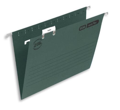 Elba Suspension File Foolscap Green (Pack of 50) 100331250