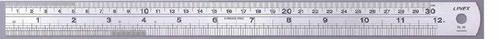 Linex Heavy Duty Ruler 100cm Stainless Steel LXESL100