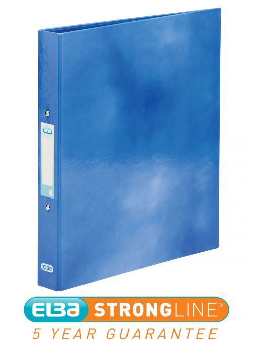 Elba Classy A4 Plus 25mm Blue Ring Binder 400017754