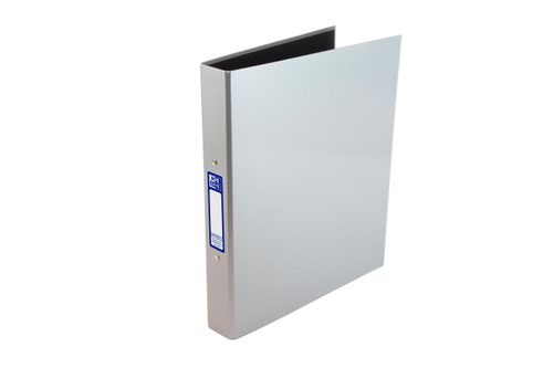 Elba Classy A4 Plus 25mm Metallic Silver Ring Binder 400017759